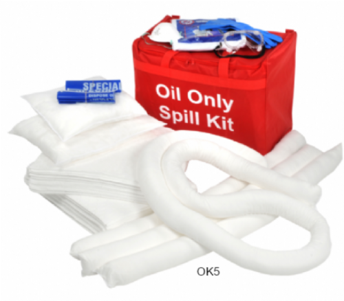 Oil Only Spill Kits 40 litres & 80 litres